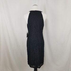 Nine West Dresses - NEW Nine West Black Embellished Jeweled Lace Dress